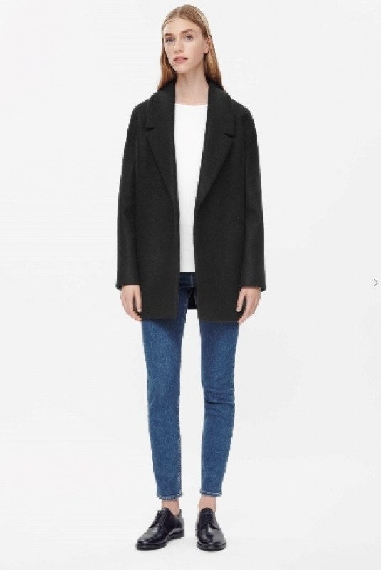 Wool Boyfriend Coat